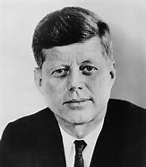 Pictures of John F. Kennedy as President