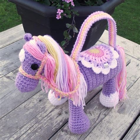 crochet pattern child purse horse purse crochet pattern stylesidea