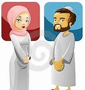 Muslim Mother Cartoon