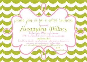 invitations for bridesmaids luncheon wording items similar to bridesmaids luncheon wedding
