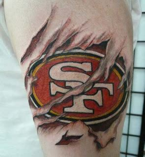 49ers tattoo designs 1000 images about 49er tattoos on san