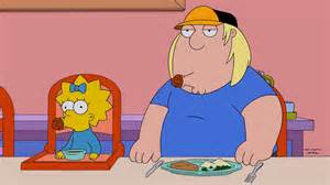 Maggie chris the simpsons family guy crossover episode