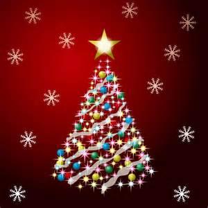 Ilustracion de arbolito de navidad con esferas de colores jpg