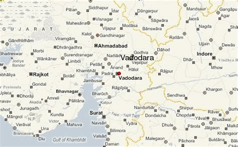 baroda map vadodara location guide