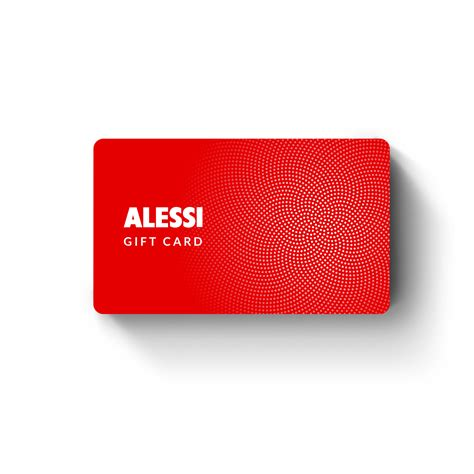 Cache Gift Card - gift card gift card prodotti alessi