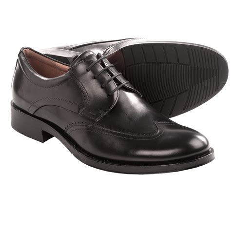 shoes canberra ecco canberra wingtip shoes for 8119x save 33