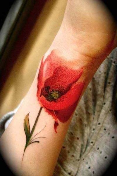 bali tattoo poppies 2 rosso papavero lo farei subito tattoo pinterest