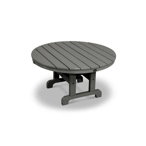 Cape Cod Patio Furniture Trex Outdoor Furniture Cape Cod Stepping 36 In Patio Conversation Table Txrct236ss