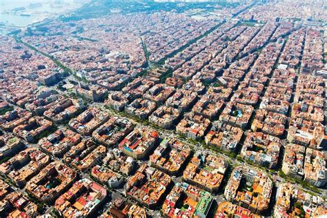 barcelona aerial view aerial view of barcelona foto de stock 169 jim filim 54977421