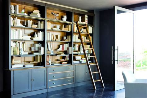 painted bookshelf ideas living room study design ideas