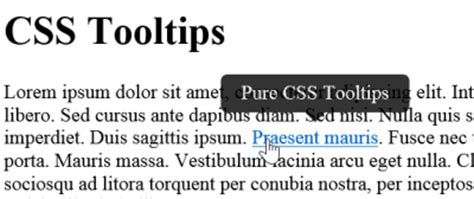 tutorial tooltip css css tooltips cssportal