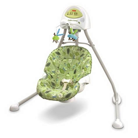 green baby swing cute and colorful baby swings stylish eve