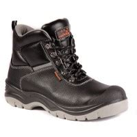Kickers Ring Safety Toes Black sterling safety boots