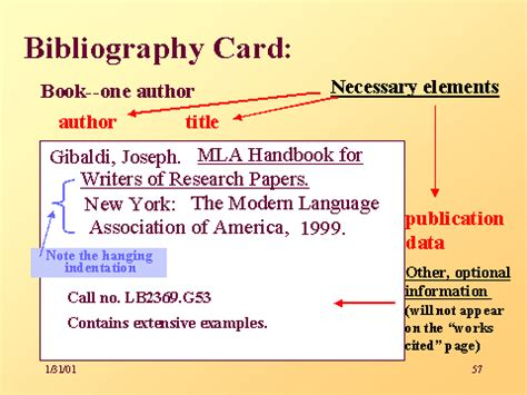 note card template for annotated bibliography bibliography card