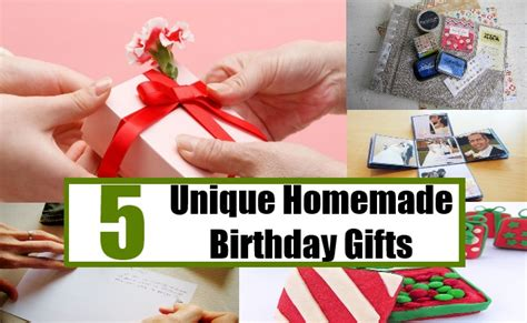 5 unique homemade birthday gifts creative homemade
