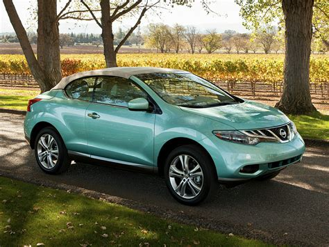 nissan crosscabriolet the nissan murano crosscabriolet will be a future classic