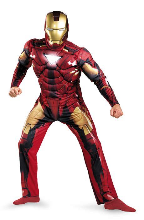 licensed iron man avengers top adult mens fancy dress