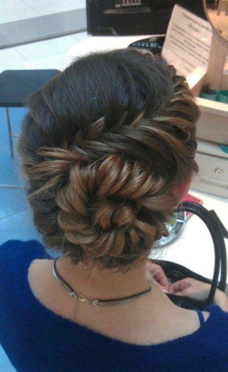 cute braided hairstyles going into a bun for black people cute braid into bun hair ideas pinterest