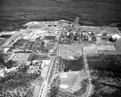 Pensacola Fl Court Records Florida Memory Aerial View Of Chemstrand Corporation