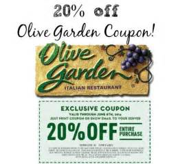 Garden Of Coupons Printable Olive Garden Coupon