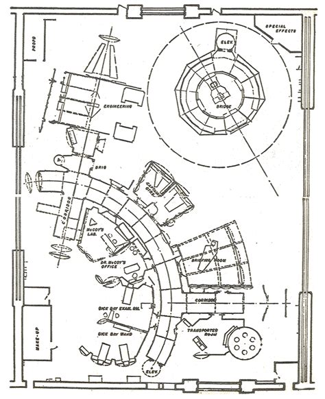 trek enterprise floor plans star trek set floor plan forgotten trek
