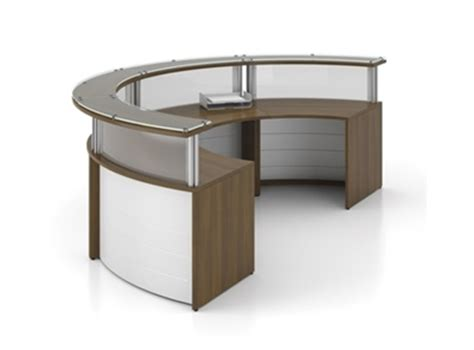 Circle Reception Desk Curved 2 Person Reception Desk By Artopex From Boca Raton Office Furniture