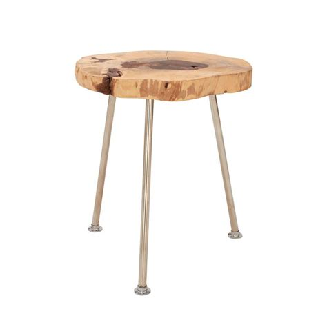 folding wood accent table from dot bo my wishlist 5 round accent tables to freshen up your home best