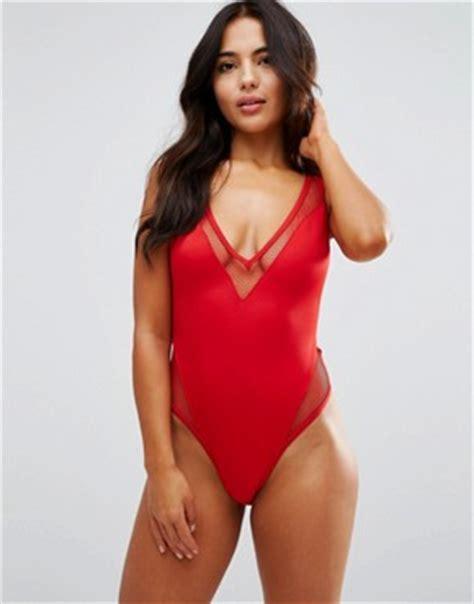 asos asos kahlo tile print frill triangle top dd plus swimwear large bust swimwear asos