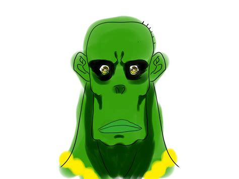 ugly green ugly green green ugly monster by mangakaofficial on deviantart