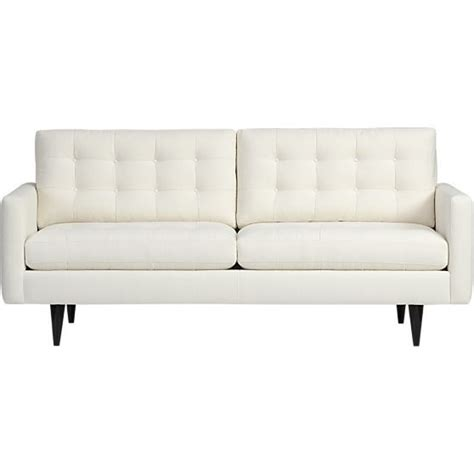 Crate And Barrel Apartment Sofa by Petrie Apartment Sofa
