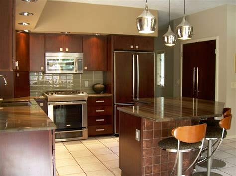 Refinishing Kitchen by Simple Steps On Kitchen Cabinet Refacing Designwalls