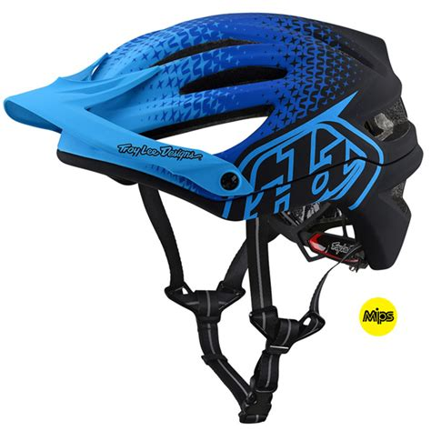 troy lee design helmet troy lee designs a2 starburst mips helmet bicycle bto