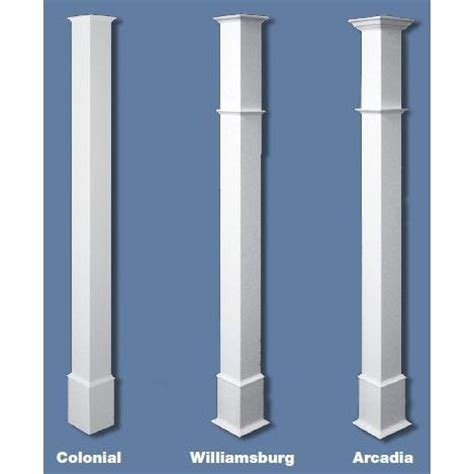 Post Columns 1000 Images About Patio Post Molding On Diy