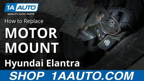 replace engine mount   hyundai elantra youtube