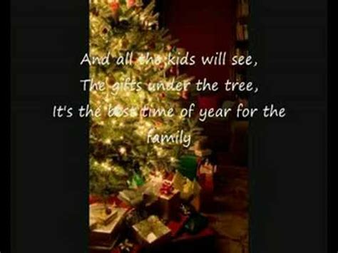 nsync merry christmas happy holidays  lyrics youtube