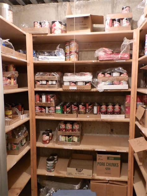 prepared lds family pictures of food storage room