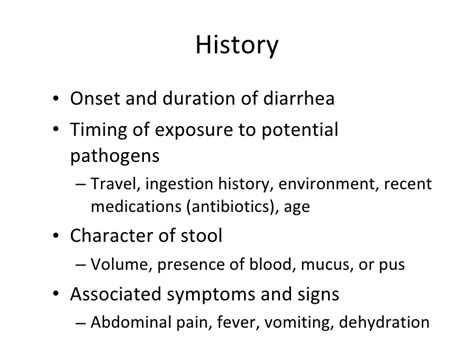 clinical correlation enteric infections bacterial diarrhea