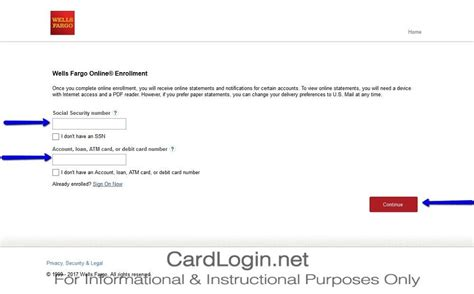 Activate Wells Fargo Gift Card - how to activate my wells fargo credit card infocard co