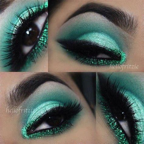 Eyeshadow Green green wedding emerald green eyeshadow 2033199 weddbook
