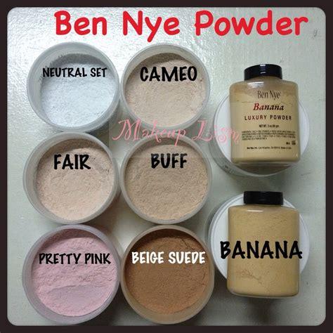 ben nye powder colors ben nye powders are the best kept secret by makeup artists