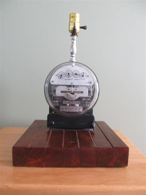 New Home Electrical Wiring Edison S Vintage Electrical Meter Gets A Makeover