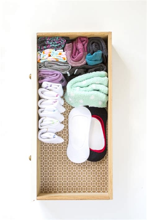 diy sock drawer how to tidy your sock drawer in 10 minutes