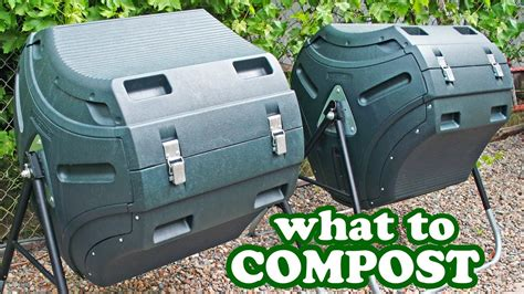 compost composting tips   add tumbler composter bin bins diy  mulch soil