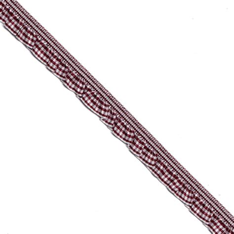 S055 A woven gingham ribbon lucky weaving lace co ltd l3 s746 46