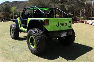 the wheel of the 707 hp jeep trailcat concept