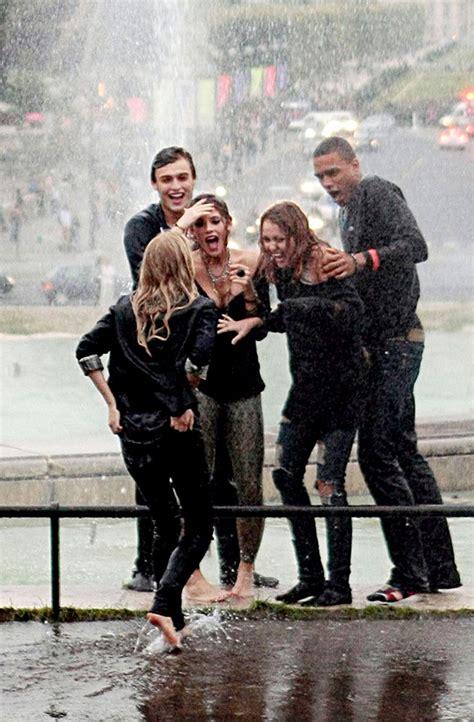 behind the scenes of barefoot in paris barefoot contessa صور جديد فيلم مايلي