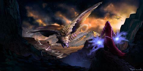 Dragons Images Attack Hd Wallpaper by Magic Supernatural Beings Dragons Wallpaper