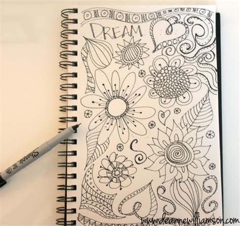 creative doodle ideas creative everyday doodling