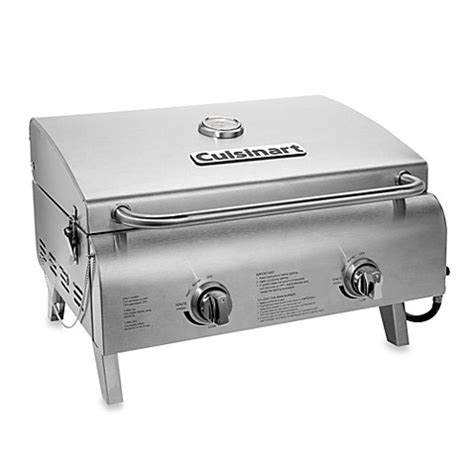 bed bath and beyond grill cuisinart chef s style stainless gas grill bed bath beyond
