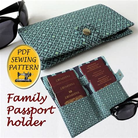 passport holder pattern sewing pinterest the world s catalog of ideas
